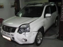 Independent inspection after the accident Nissan X-Trail